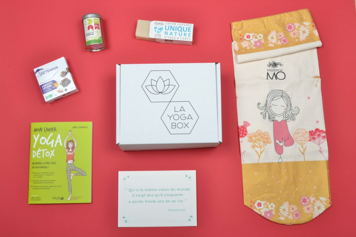 La Yoga Box de Juin